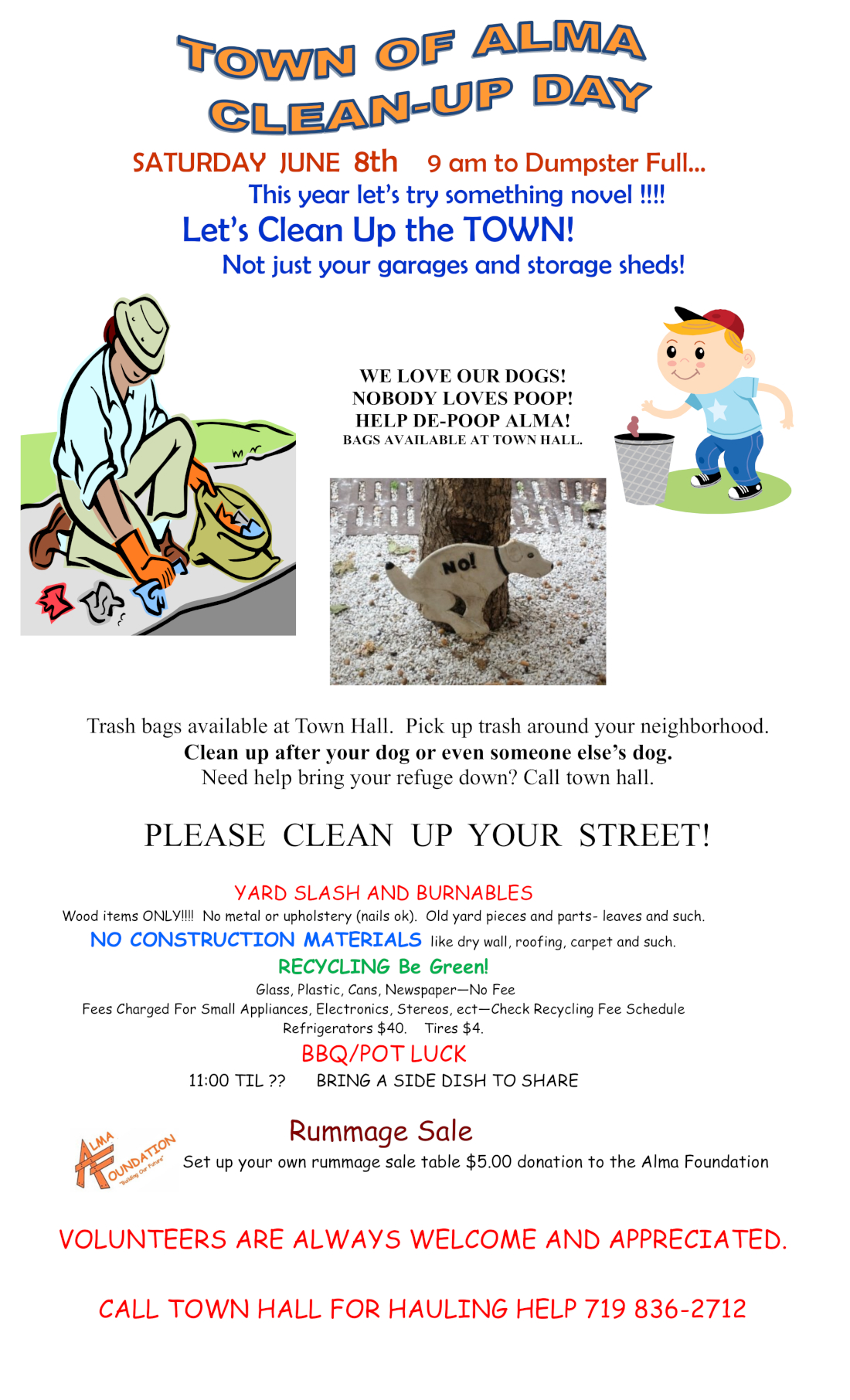 town cleanup new