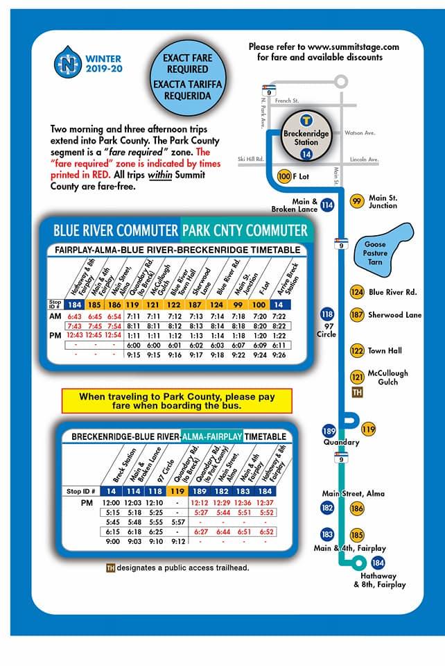 Bus Schedule 2020
